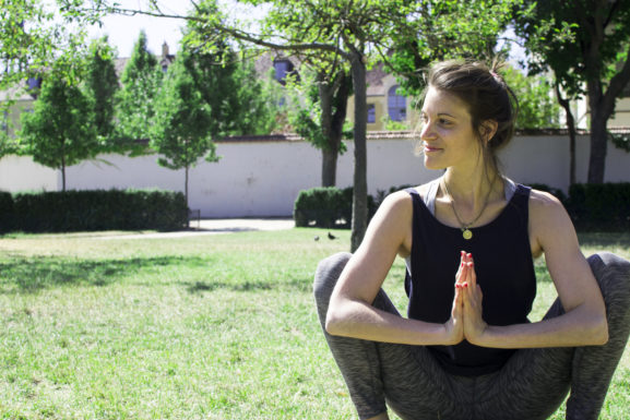 Guenaelle de Beauregard yoga